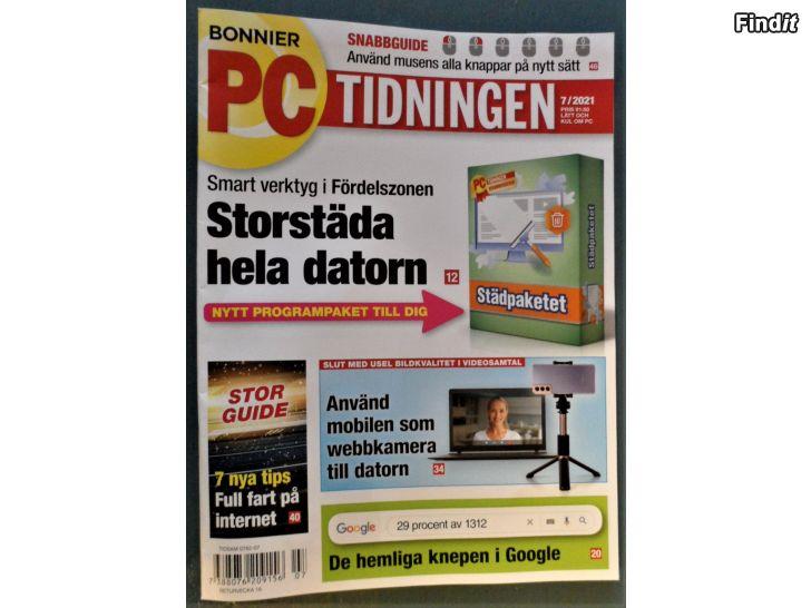 Säljes PC Tidningen 7 2021