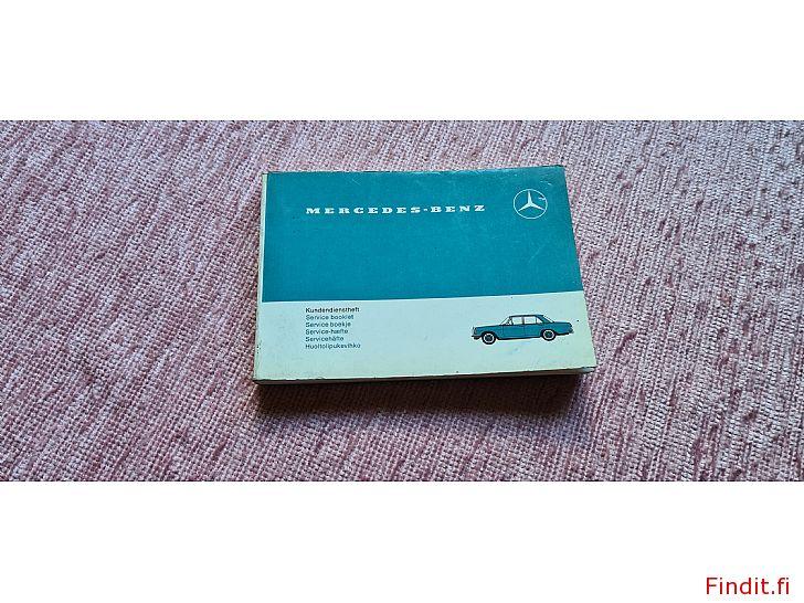 Säljes Mercedes-Benz Service bok