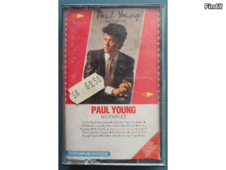 Säljes Paul Young, No Parlez. Kassett