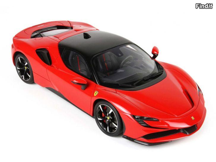 Säljes Ferrari SF90 Stradale - röd - skala 124
