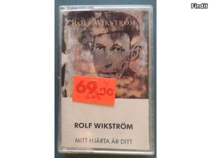 Säljes Rolf Wikström, Mitt Hjärta Är Ditt. Kassett