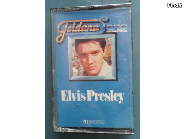 Säljes Elvis Presley, Goldene Serie International. Kassett