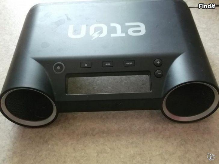 Myydään Langaton Bluetooth stereo kaiutin Eton Rukus UUSI