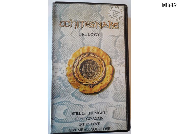 Säljes Whitesnake Trilogy