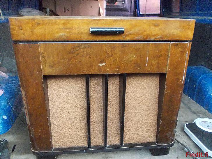Säljes Luxor radiogrammofon