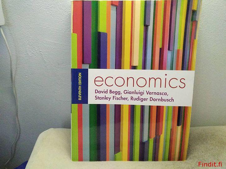 Myydään Taloustieteiden oppikirja, yliopistotaso, englanninkielinen
