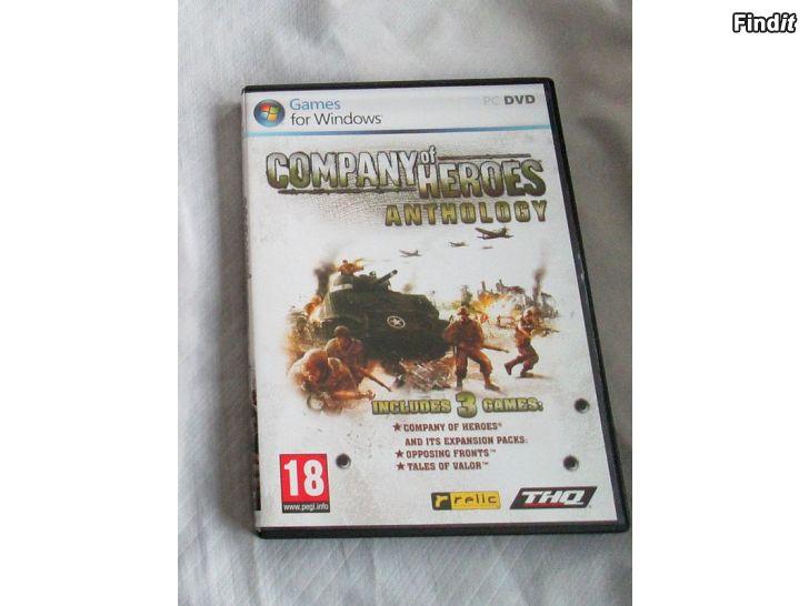 Myydään Videopeli Company Of Heroes Anthology, PC DVD