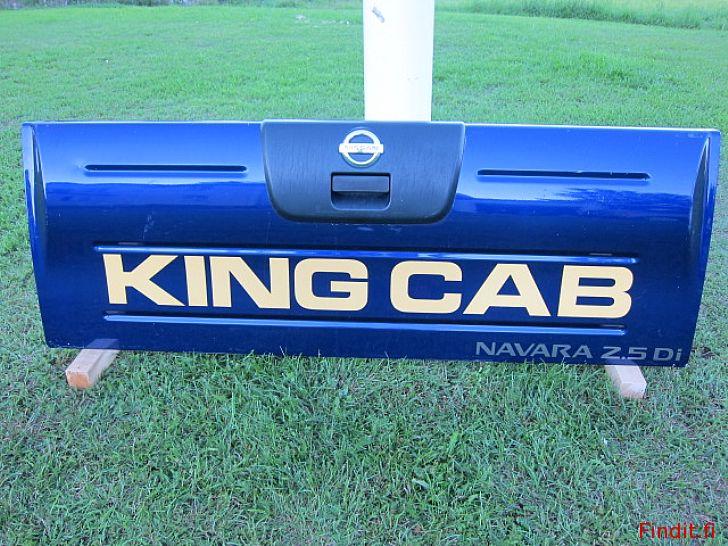 Myydään Nissan pickup Kingcab Navara NP300 perälauta