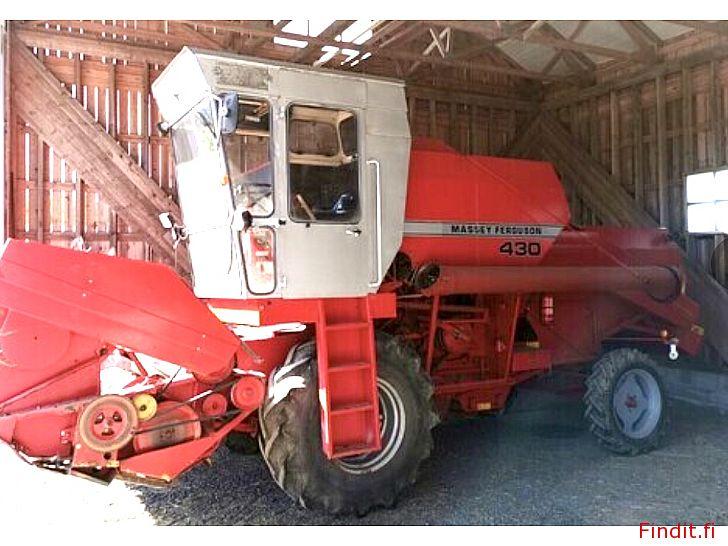 Köpes Köpes M-F 206/16/430/20 Skördetröskor även andra lantbruksmaskiner