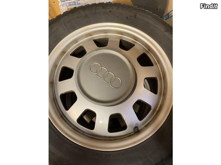 Säljes Audi A6 vm 1997 alufälgar, 6J x 15, ET 45