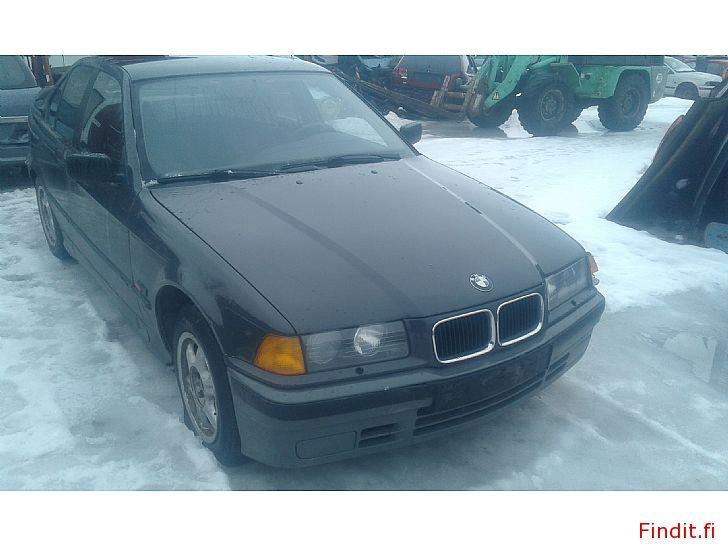 Myydään BMW 316 sedan 1992 varaosina