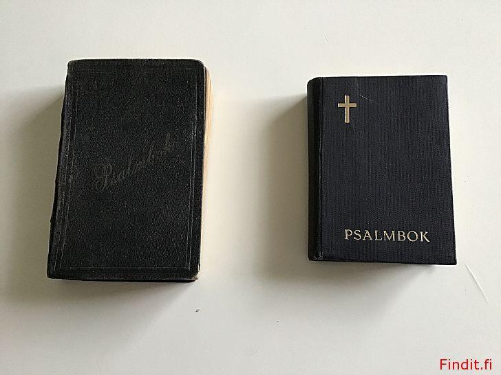 Säljes 2 gamla psalmböcker