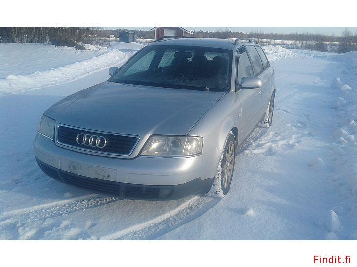 Myydään Audi A 6  avant 2,5 TDi manuaali 2001 ja All Round 2002  varaosina