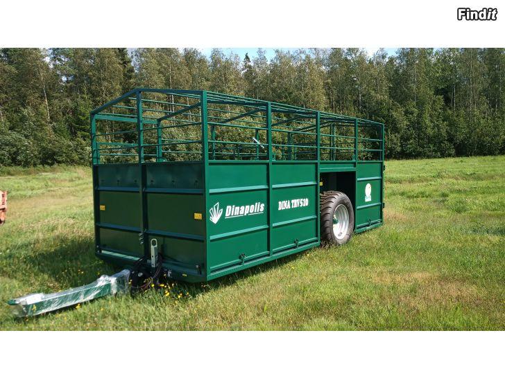 Säljes Dinapolis TRV 510 djurtransportvagn