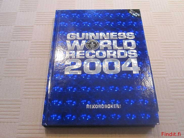 Säljes Guiness World Records 2004