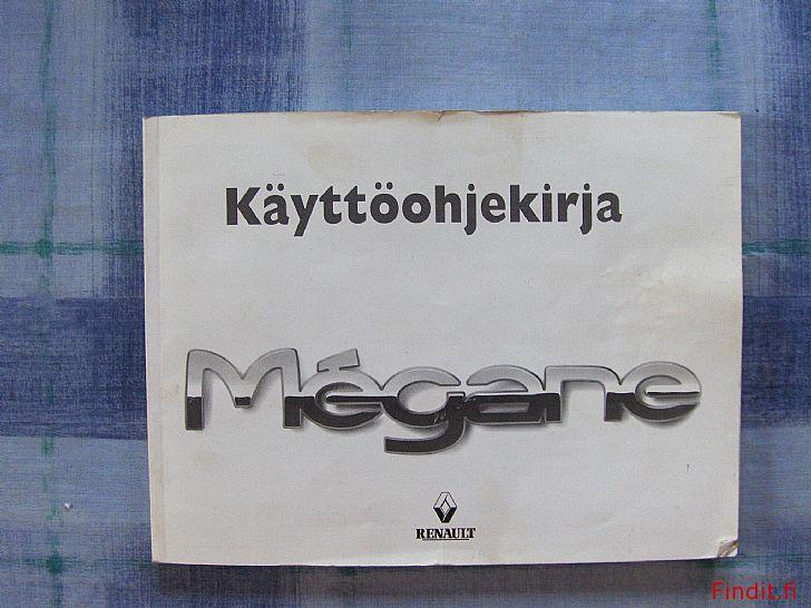 Myydään Käyttöohjekirja Renault Megane 1999