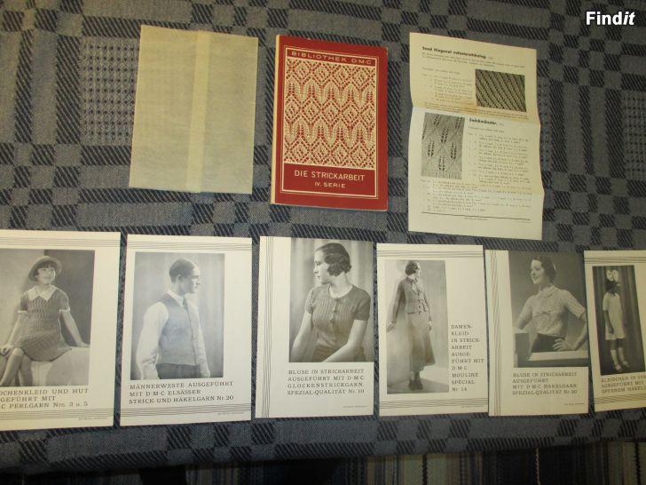 Myydään DIE STRICKARBEIT, IV Serie, Neulominen v. 1950