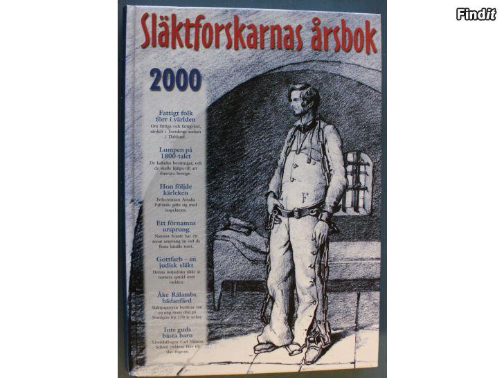 Säljes Släktforskarnas årsbok 2000