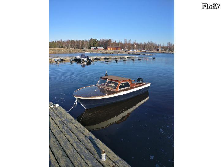 Mahognybåt + motor