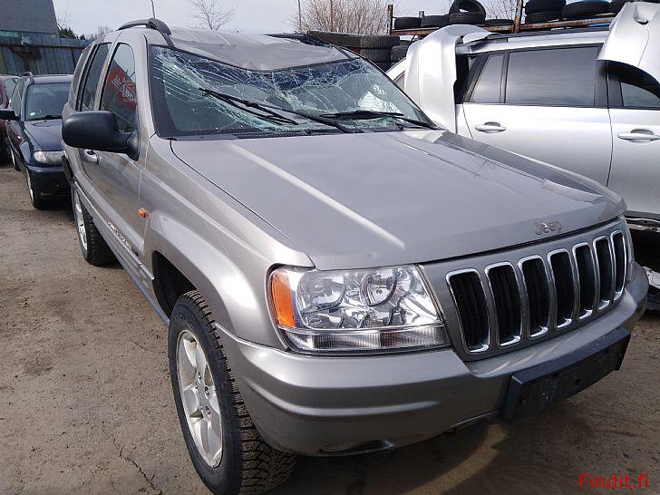 Myydään Jeep Grand Cherokee 2,7 TDi automaatti 2002 varaosina