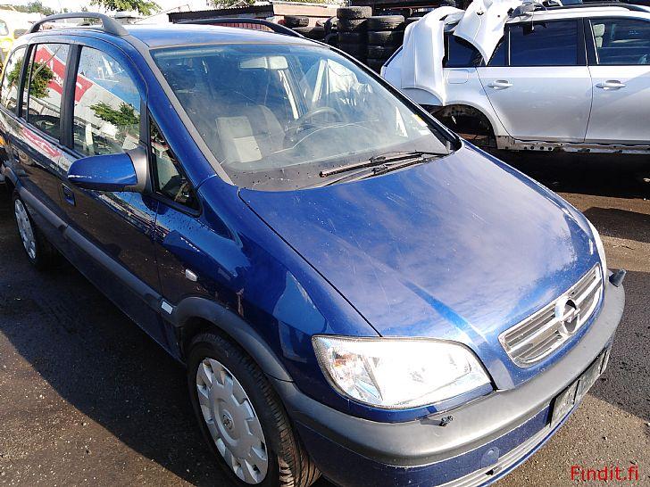 Myydään Opel Zafira 2,2 manuaali 2005 varaosina
