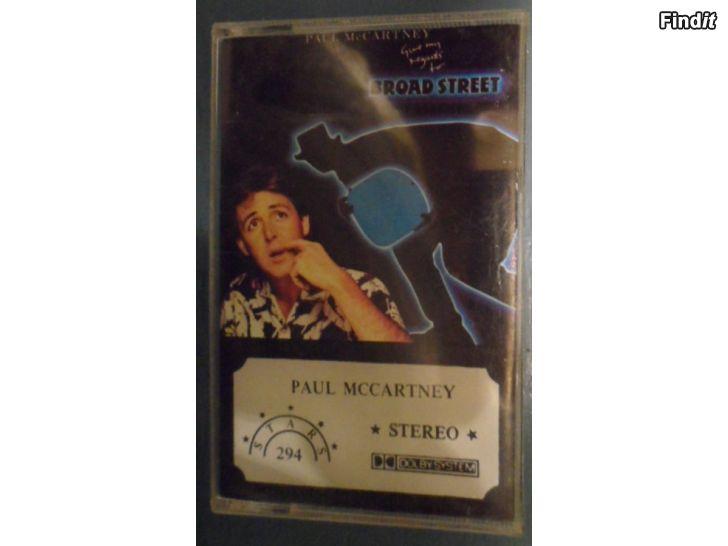 Säljes Paul McCartney, Broad Street. Kassett