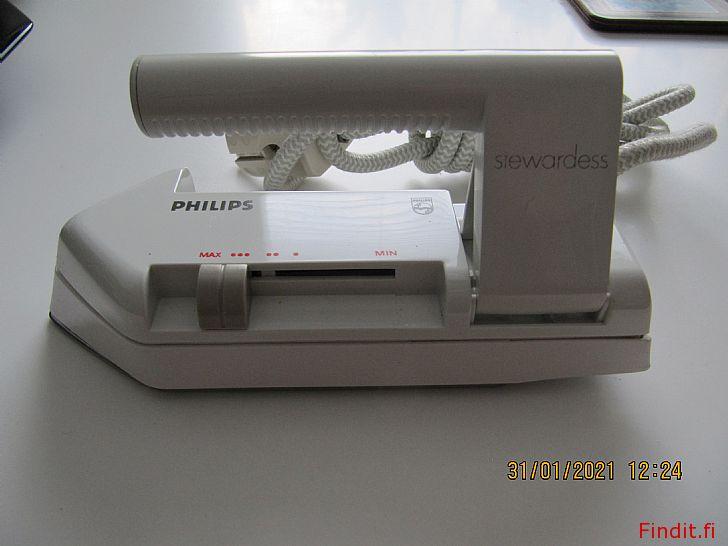 Myydään Philips matkasilitysrauta