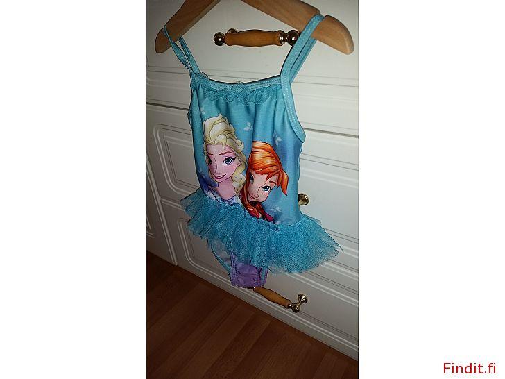 Myydään Frozen uimapuku tyttöjen