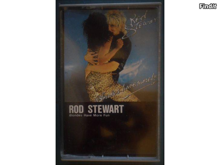 Säljes Rod Stewart, Blonds Have More Fun. Kassett