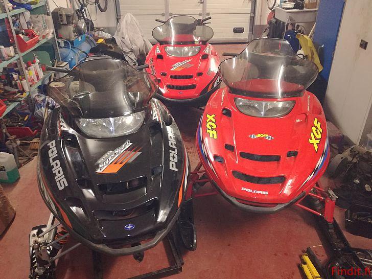 Säljes Polaris XCF 440 -00 och Supersport 550 -05 säljes i delar