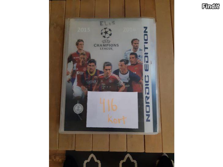 Säljes Fotbollskort säljes