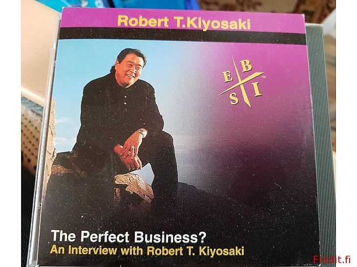 Säljes 3 st Robert kiyosaki cdn