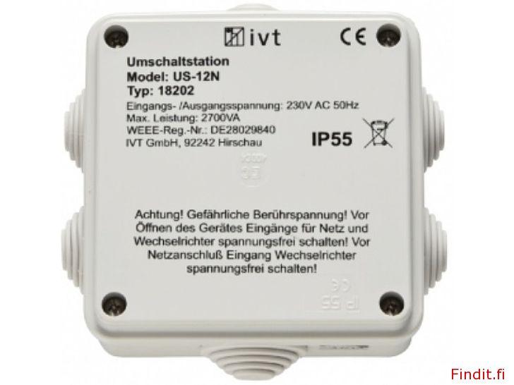 Säljes Automatisk omkopplare mellan generator eller nät å inverter IVT US-12N