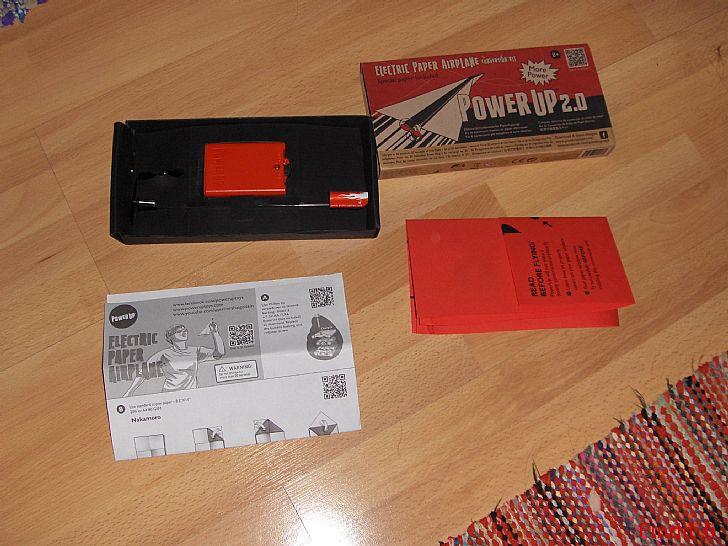 Myydään Moottori paperilennokkiin - ladattava akku