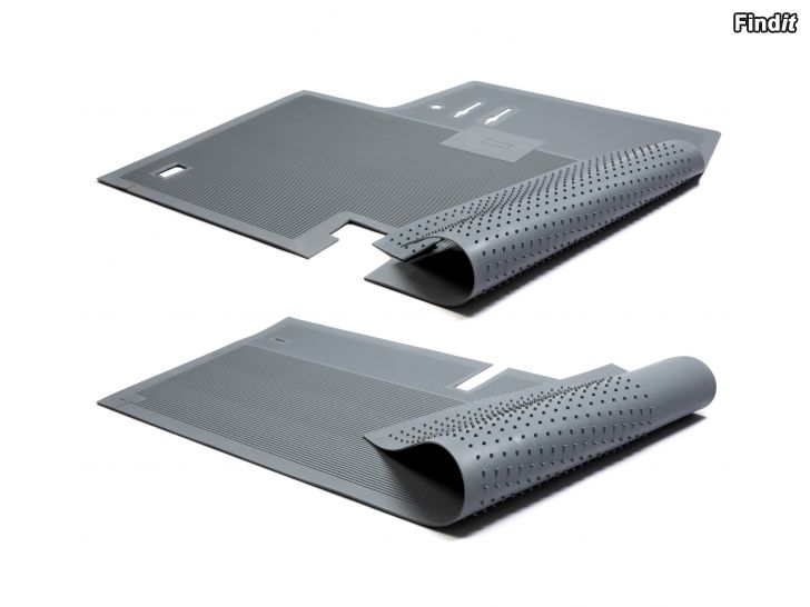 Säljes Rubber floor mats front and rear for Saab 92, 93, 95  96, 1949-1964