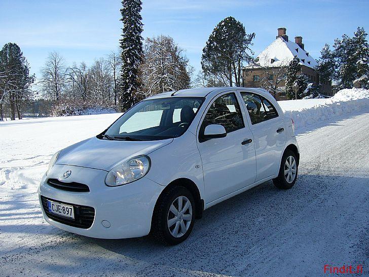 Myydään Nissan Micra vm. -12. 5-ovinen. Ajettu vain 65tkm. Auto ei uutta häpeä Katso kuvat ja lue ilmoitus