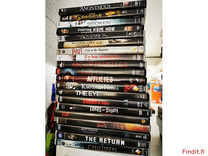 Säljes Skräckisar på DVD