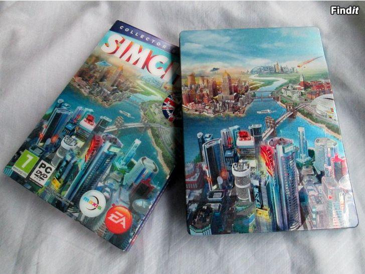 Myydään Videopeli SimCity, Collectors Edition, DVD-Rom PC