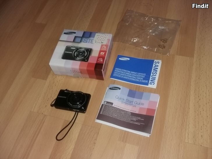 Myydään Kamera SAMSUNG ST94   -12e