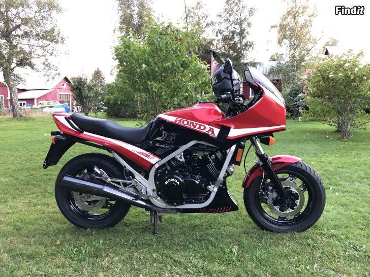 Säljes Honda vf1000f muse motocyckel