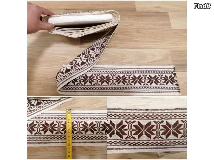 Myydään Lähes 8METRIÄ nauha kangas tekstiili ompelu