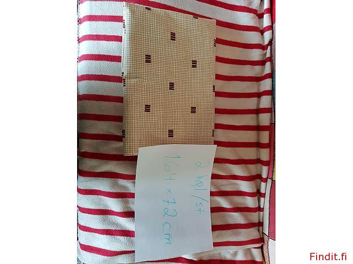 Säljes Vintage gardiner 164 x 72 cm