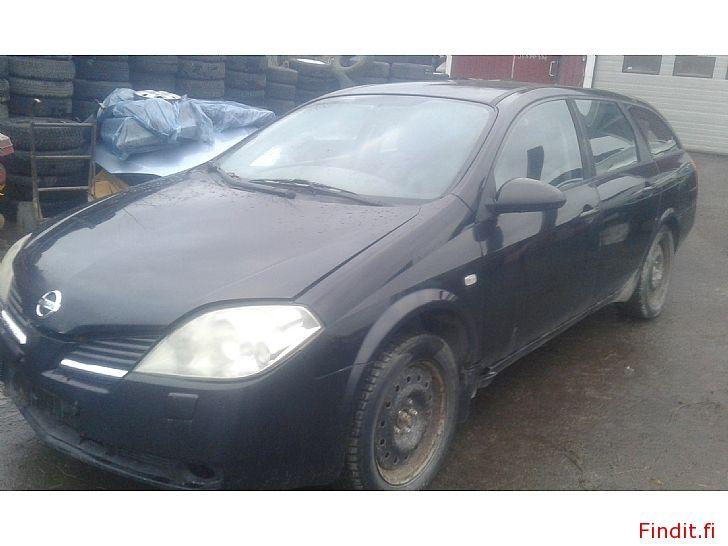Myydään Nissan Primera 1,8 manuaali 2003 varaosina