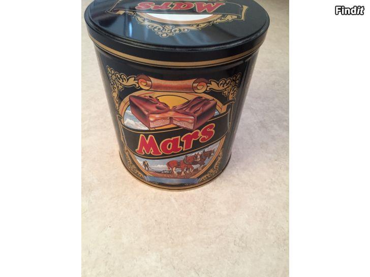 Säljes Mars plåtburk
