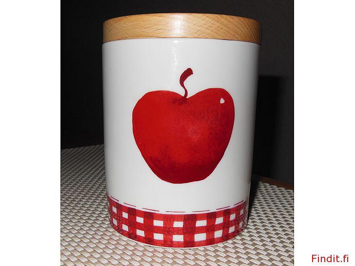 Myydään Arabian omenapurkki, UUSI
