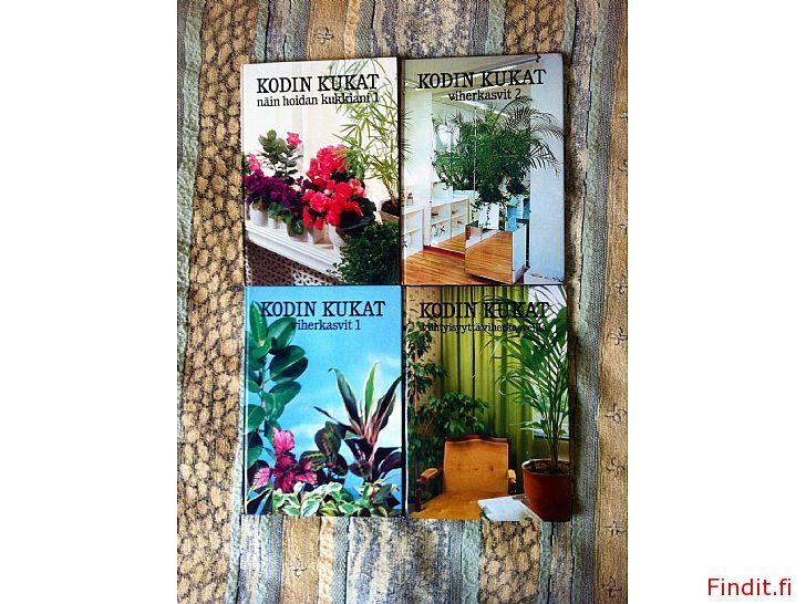 Myydään Kodin kukat viherkasvit, kukkien hoito