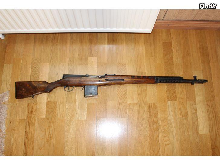 Säljes Tokarev SVT40 7,62 samt Tikkakoski