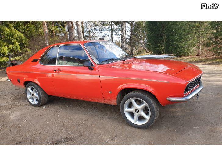 Myydään Upea Opel Manta A