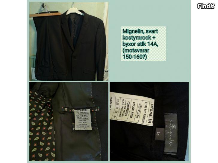 Säljes Flera kostymrockar och kostymbyxor
