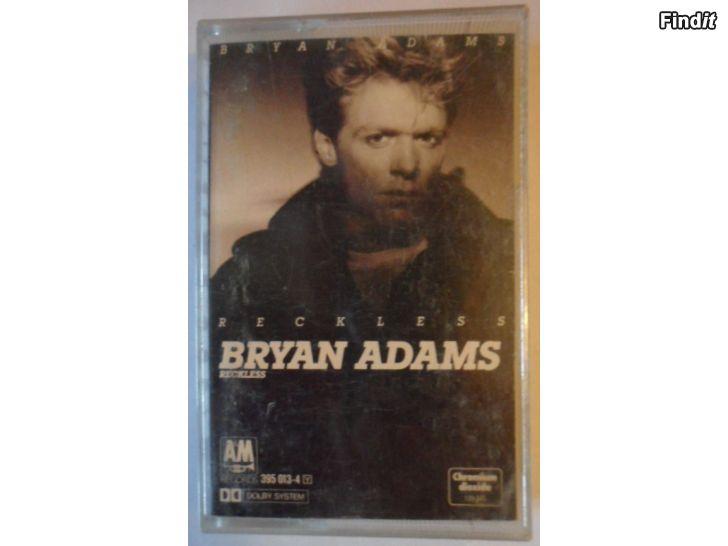 Säljes Bryan Adams, Reckless. Kassett